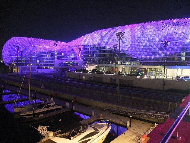 Abu Dhabi F1 May 2013
