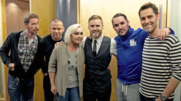 Madhen and Gary Barlow