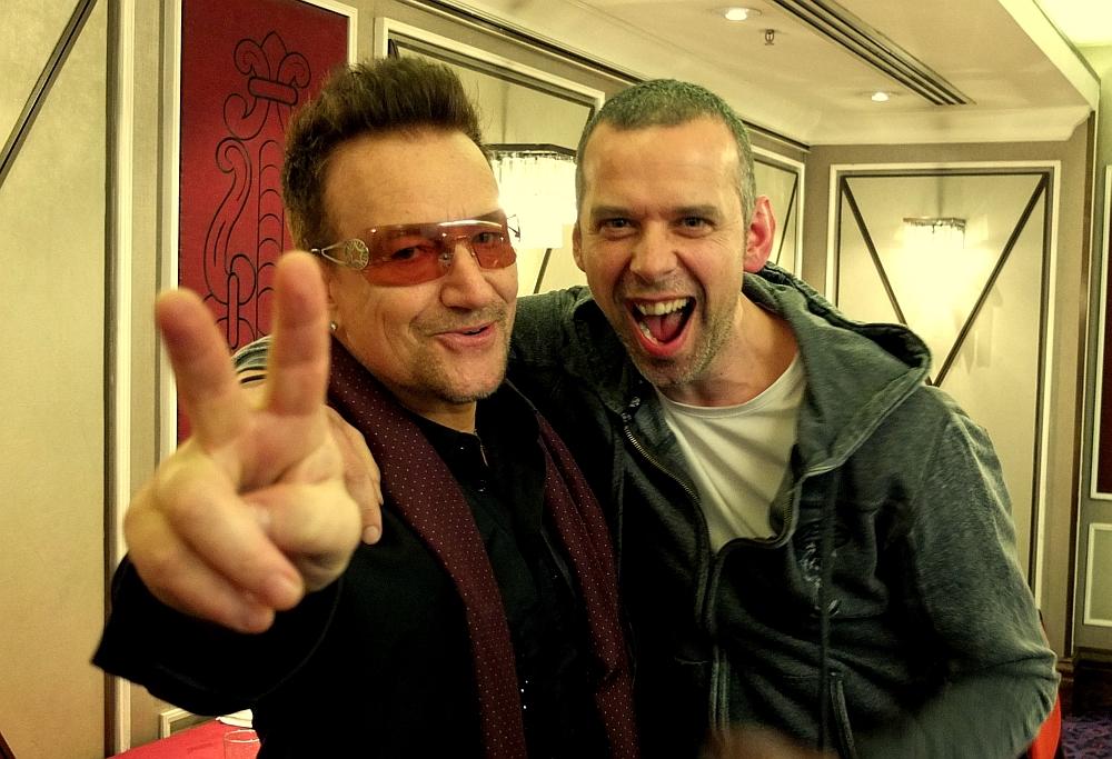 With Bono
